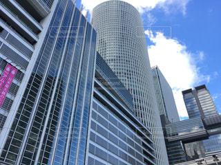 名古屋駅前の高層ビル群の写真・画像素材[1033600]