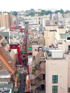 上から見た中華街 - No.799129