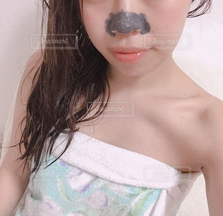 鼻パックの写真・画像素材[1328278]