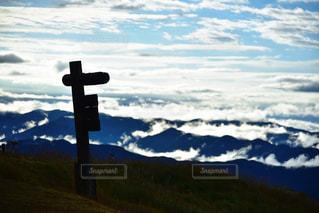 生石高原から見下ろす雲海の写真・画像素材[799617]