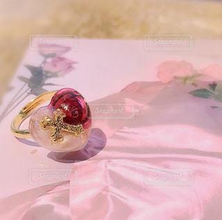 レジン 指輪の写真・画像素材[1632439]