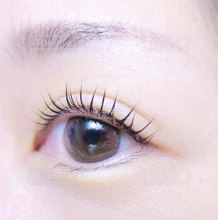 人の目のクローズアップの写真・画像素材[2905288]