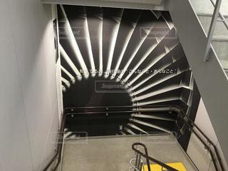 空港の階段の写真・画像素材[869315]