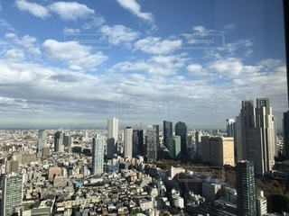 オペラシティタワーからの眺望の写真・画像素材[1633015]