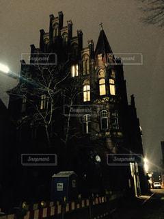 マジパンで有名なドイツ北部のリューベックのお城の写真・画像素材[804987]