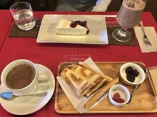 カフェで休憩の写真・画像素材[2739860]