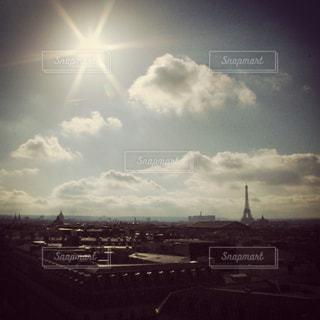空の雲の写真・画像素材[801457]