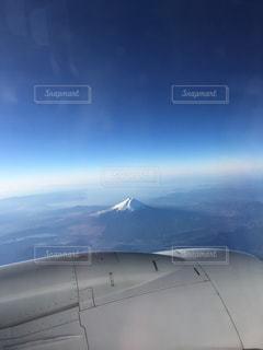 元旦の富士山の写真・画像素材[802977]