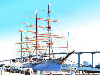 大型船の写真・画像素材[1841378]