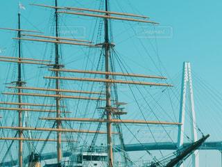 大型船の写真・画像素材[1841400]