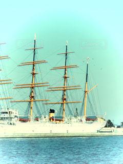 水体の大型船の写真・画像素材[1841495]