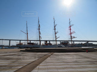 船と橋の写真・画像素材[1861316]