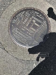 近くの通りのアップの写真・画像素材[802658]