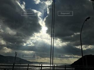 空には雲のグループの写真・画像素材[802847]