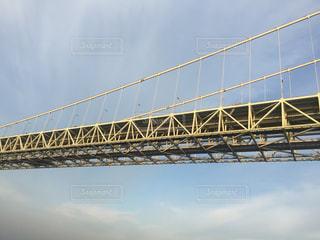 水の上の橋を渡る列車の写真・画像素材[803463]