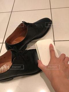 靴磨きの写真・画像素材[803639]