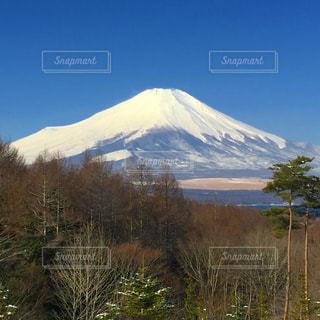 雪の覆われた山々 の景色の写真・画像素材[802682]