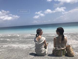 大人の島旅の写真・画像素材[805067]