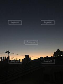 ふゆのあさやけの写真・画像素材[927046]