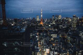 大都市の夜景の写真・画像素材[870945]