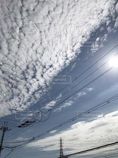 ソラの道の写真・画像素材[803841]