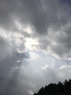 光芒の写真・画像素材[803942]