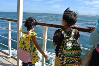 船の上からの写真・画像素材[813057]