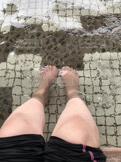 足湯の写真・画像素材[2188765]