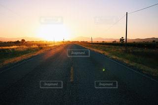 夕陽の写真・画像素材[805276]