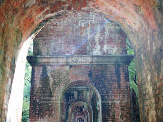 南禅寺での一枚の写真・画像素材[814982]