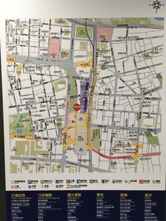 台北駅の地図の写真・画像素材[804809]
