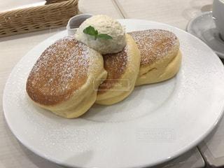 幸せのパンケーキの写真・画像素材[805061]