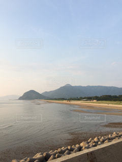 有明浜海水浴場の写真・画像素材[805344]