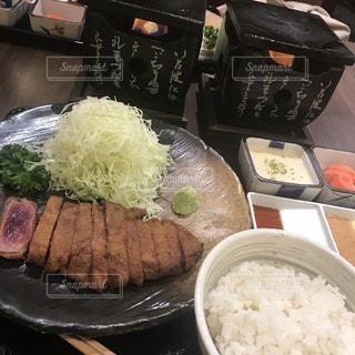 牛カツ 夜ご飯 - No.805427