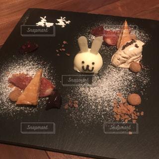 季節の皿盛りデザート 秋の写真・画像素材[806048]