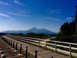 磐梯山の写真・画像素材[1001574]
