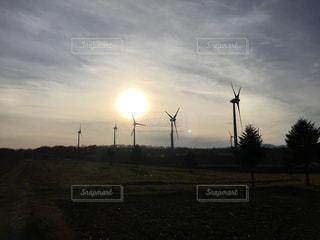 風車の写真・画像素材[1003447]