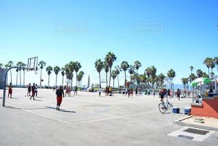 ストリートバスケの写真・画像素材[805944]