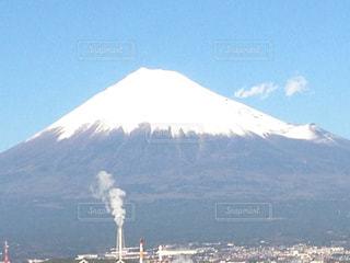 工場群と富士山 - No.809550
