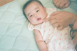 赤ちゃんの歯の写真・画像素材[1007777]