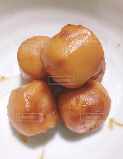 大好きなんだ里芋の煮っ転がしの写真・画像素材[3852761]