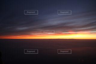 富士の朝日の写真・画像素材[807812]