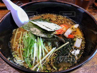伊豆大島の海鮮ラーメンの写真・画像素材[807912]