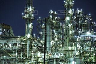 工場夜景の写真・画像素材[808756]
