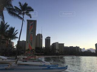 ハワイの朝の写真・画像素材[810790]