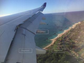 飛行機からの街並みの写真・画像素材[812419]
