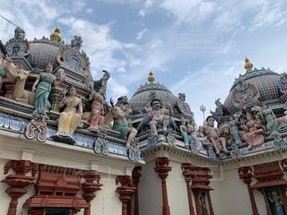 スリ・マリアマン寺院 シンガポールの写真・画像素材[2233587]