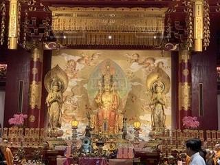 シンガポール仏教寺院の写真・画像素材[2233590]
