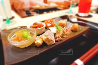和食ディナーの前菜の写真・画像素材[808631]
