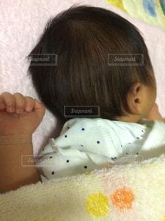 寝ている息子の後頭部( ^ω^ ) - No.808616